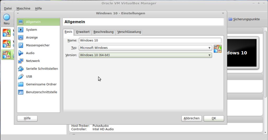 VirtualBox 5.0 unterstützt Windows 10 offiziell