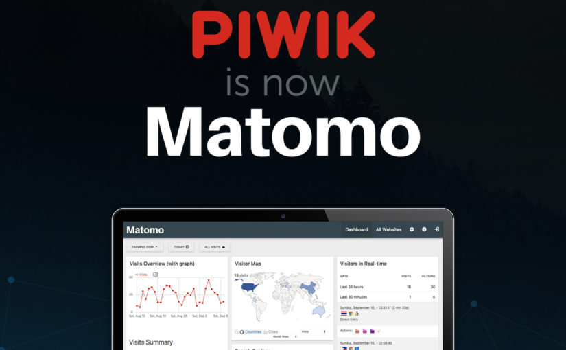 Piwik is now Matomo